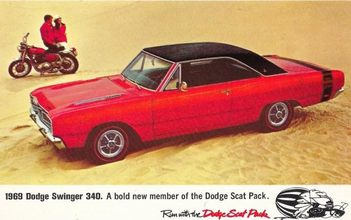 1969 Dodge Dart Swinger ad