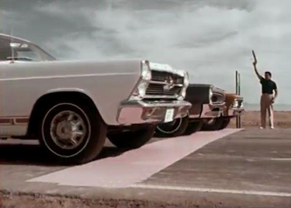 1966 Chevrolet Chevelle SS 396 Drag Race Start