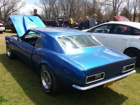 1967 Camaro Blue
