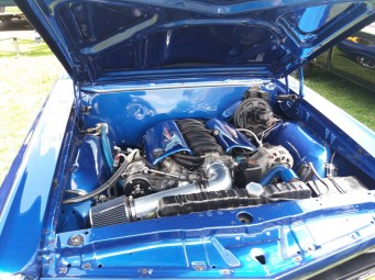 1967 Pontiac GTO Side Engine