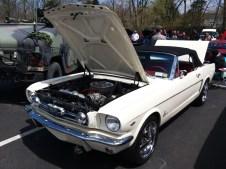 1967 Mustang Convertible-Front