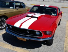 1969 Ford Mustang Front