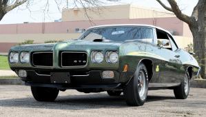 1970 Pontiac GTO Judge Ram Air IV Convertible