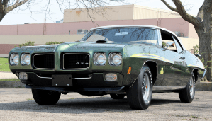 1970 Pontiac GTO Judge Ram Air IV Convertible