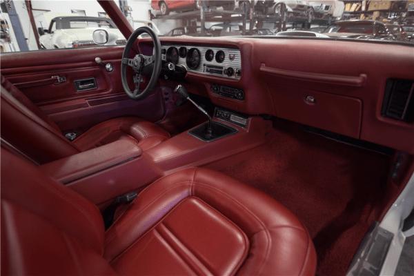 1973 Pontiac Trans Am 455 Super Duty Interior