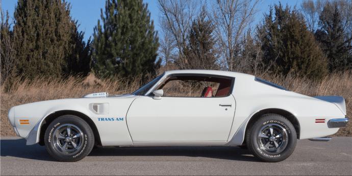 1973 Pontiac Trans Am 455 Super Duty Side