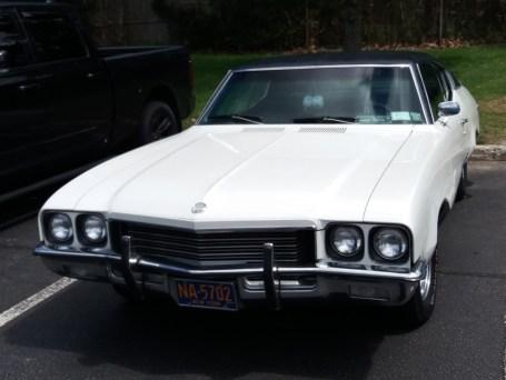 White Buick +