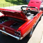 Rear Ford Mustang Convertible