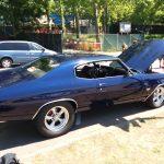 Blue 1971 Chevrolet Chevelle SS