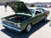 1970 Plymouth Duster Green