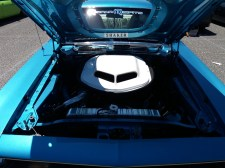 1970 Plymouth Cuda 440 Engine Bay
