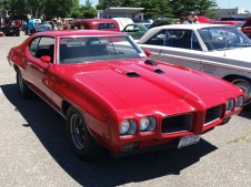 1970 Pontiac GTO Ram Air Red