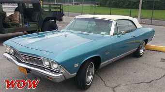 1967 Chevrolet Chevelle Malibu Convertible Blue