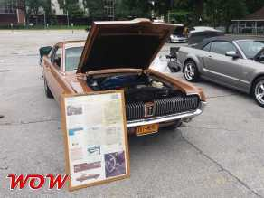 1967 Mercury Cougar Brown