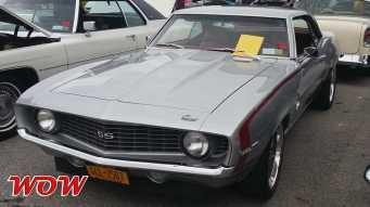 1969 Chevrolet Camaro SS 396 Silver