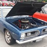 Blue 1969 Plymouth Barracuda