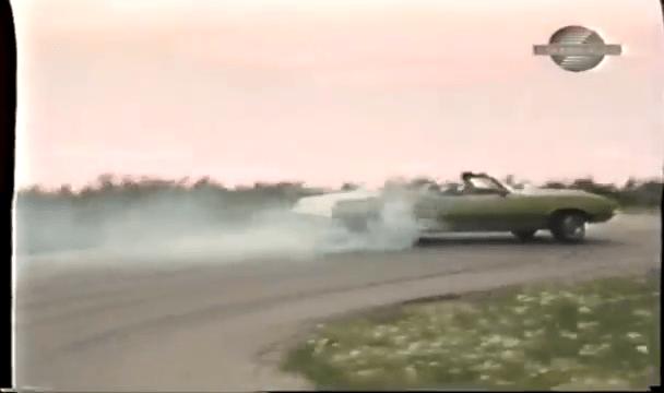 1971 Oldsmobile 442 Convertible W30 High Speed Power Slide