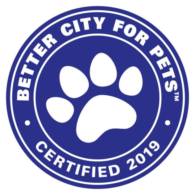 Better City for Pets seal