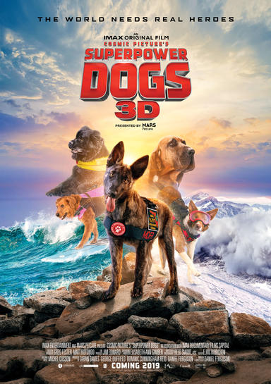 Dogs 3D movie poster