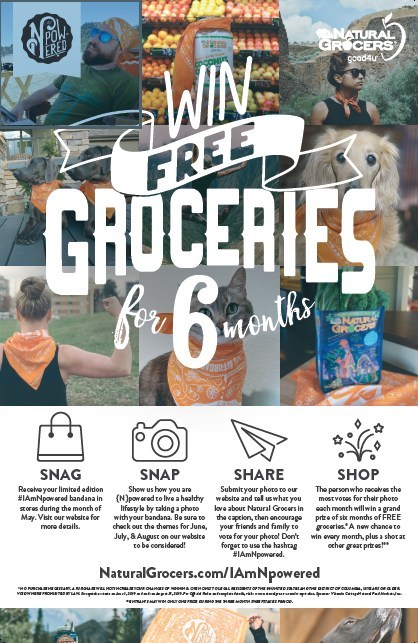 Win free groceries with the help of your pet in June - Wow