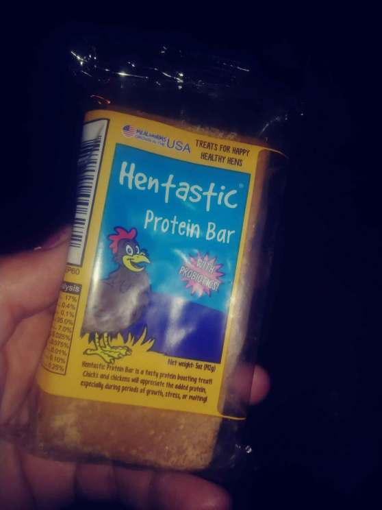 Hentastic Protein Bar