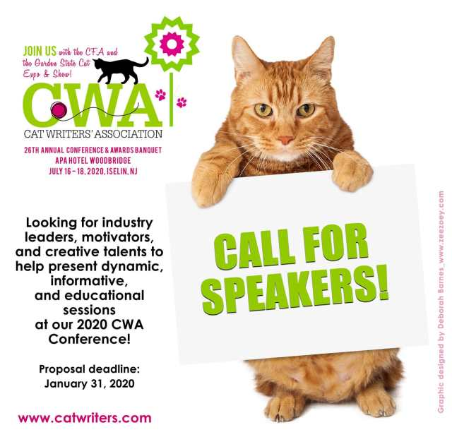 CWA call for speakers