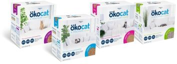Different types of okocat -- four different boxes