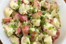 Baby Red Potato Salad | http://www.skinnytaste.com/2009/06/baby-red-potato-salad.html