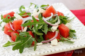 Watermelon & Feta Salad | http://www.skinnytaste.com/2008/08/watermelon-and-feta-salad-3-pts.html