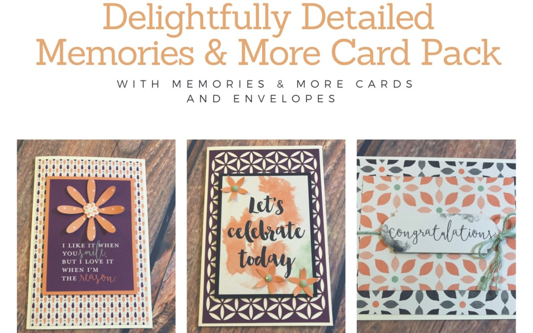 Memories & More Delightfully Detailed Cards