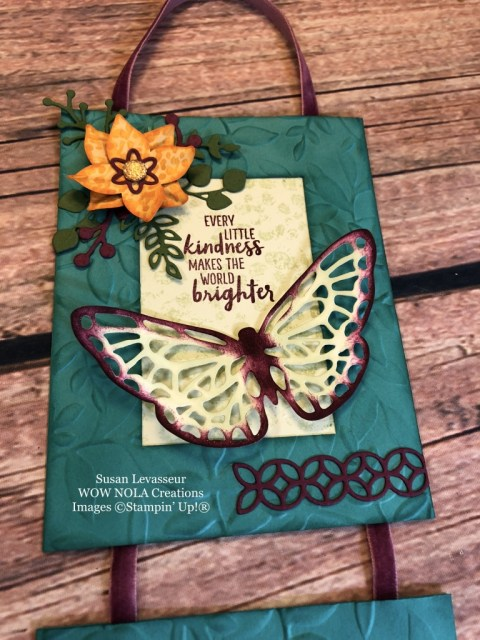 Susan Levasseur, WOW NOLA Creations, Nature and Inspiration Wallhanging, Stampin' Up!