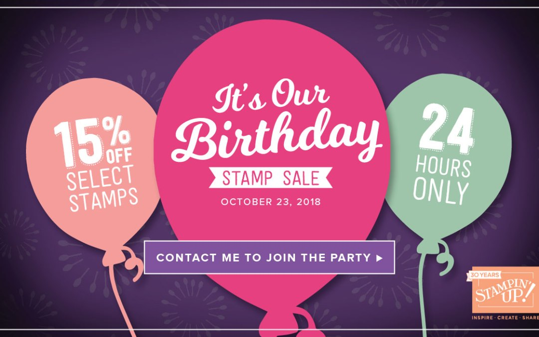 24-hour Birthday Sale