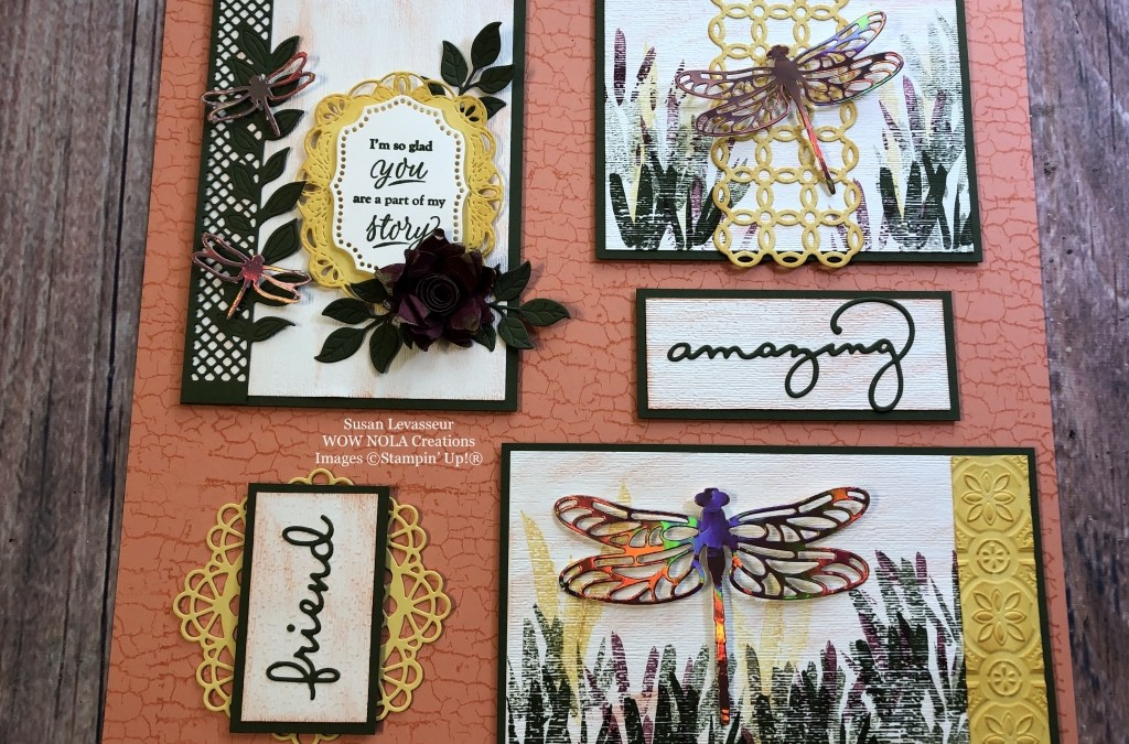 Dragonfly Dreams Decor Frame