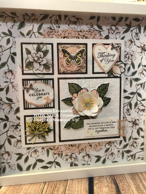 Susan Levasseur, WOW NOLA Creations, Good Morning Magnolia Sampler, Stampin' Up!