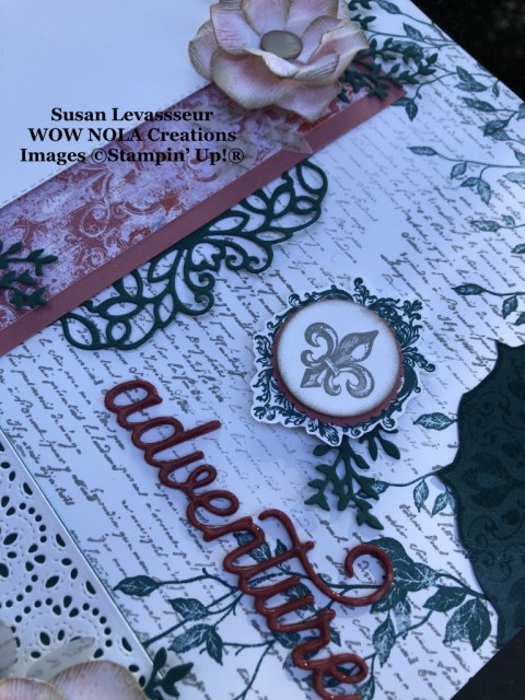 Creating Scrapbook Layouts with Stampin' Up!