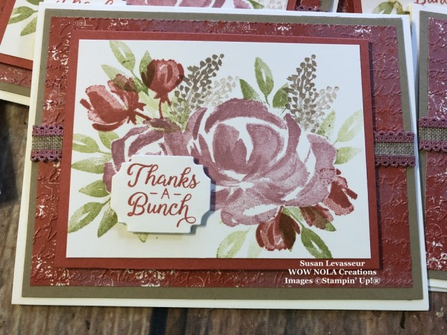 Beautiful Friendship Masking Technique, Susan Levasseur, WOW NOLA Creations, Stampin' Up!