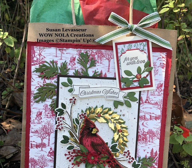 Toile Tidings Christmas Gift Set