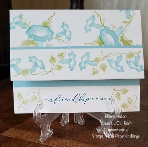 Simple Stamping Team Challenge, Susan's WOW Team, WOW NOLA Creations, Stampin' Up!
