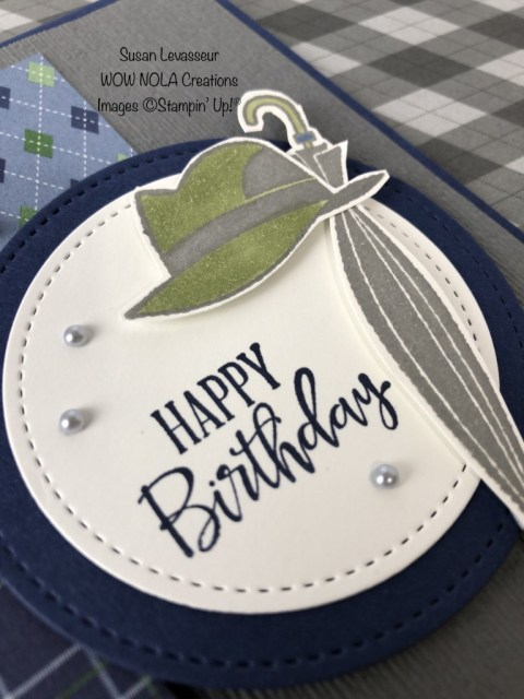 Well Dressed, Susan Levasseur, WOW NOLA Creations, Stampin' Up!