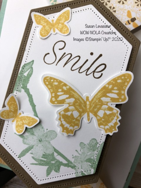 Double Point Fancy Fold, Susan Levasseur, WOW NOLA Creations, Stampin' Up!