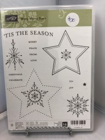Stamp Set: Many Merry Stars