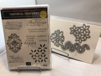 Die Bundle: Tasteful Textures Stamp Set and Die Set