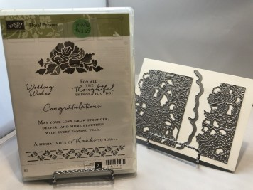 Die Bundle: Floral Phrases Stamp Set and Die Set