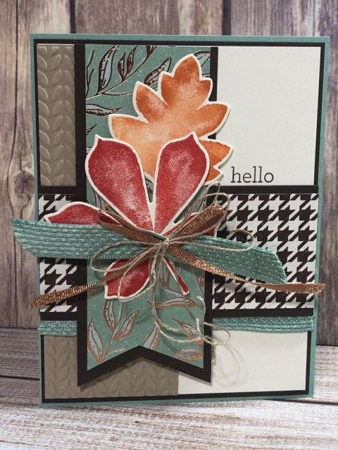 It's Fall Y'all WOW Team Challenge, Susan Levasseur, WOW NOLA Creations, Stampin' Up!
