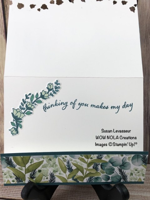 Quite Curvy, Susan Levasseur, WOW NOLA Creations, Stampin' Up!