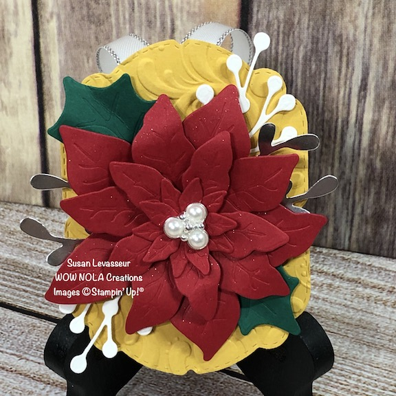 Poinsettia Christmas Ornament Riverbend 2020