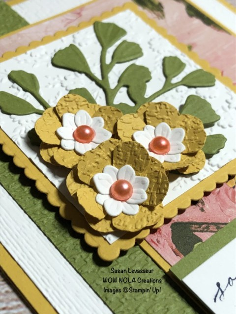 Sympathy Cards with Heal Your Heart, Susan Levasseur, WOW NOLA Creations, Stampin' Up!