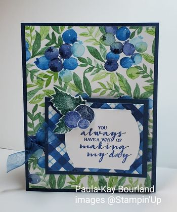 Berry Blessings, WOW Team Challenge, Paula-Kay Bourland
