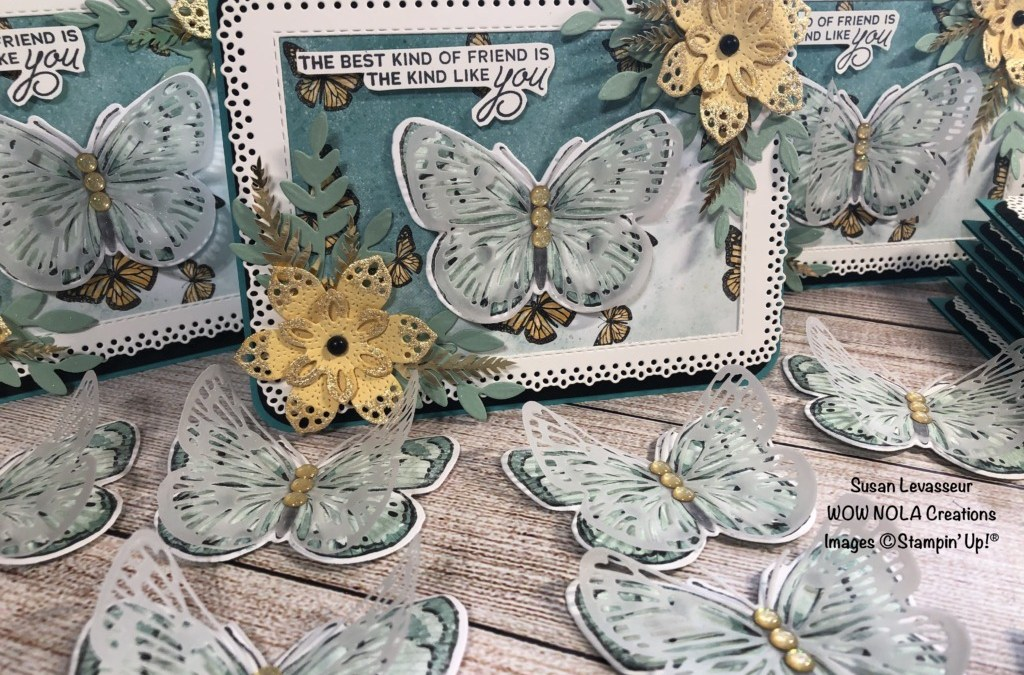 Vintage Butterfly Brilliance