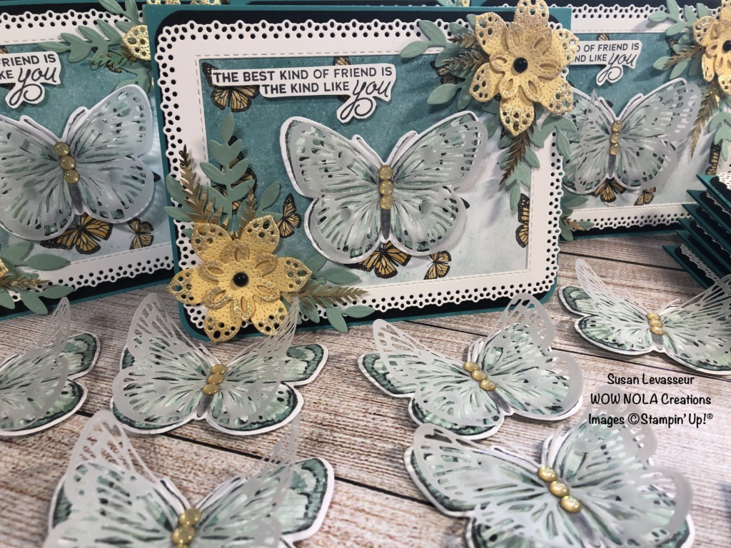 Vintage Butterfly Brilliance, Susan Levasseur, WOW NOLA Creations, Stampin' Up!